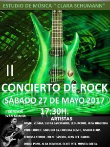 CARTEL CONCIERTO ROCK 2017