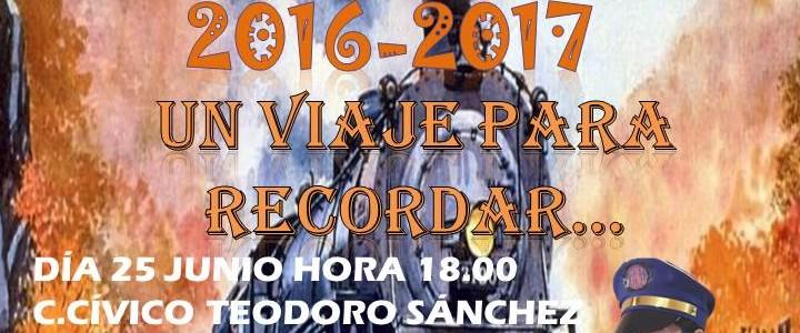 """FESTIVAL FIN DE CURSO 2017 """" UN VIAJE PARA RECORDAR"""""""
